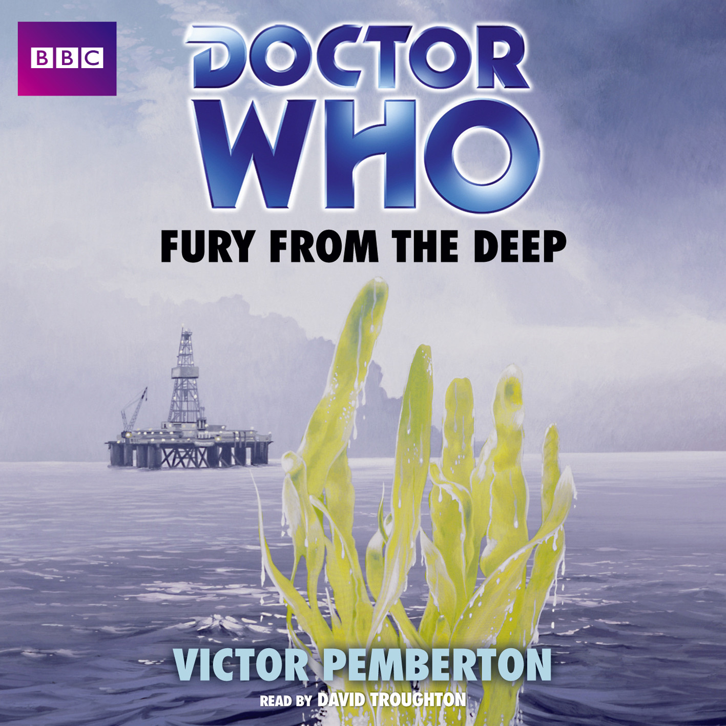 Printable Doctor Who: Fury from the Deep Audiobook Cover Art