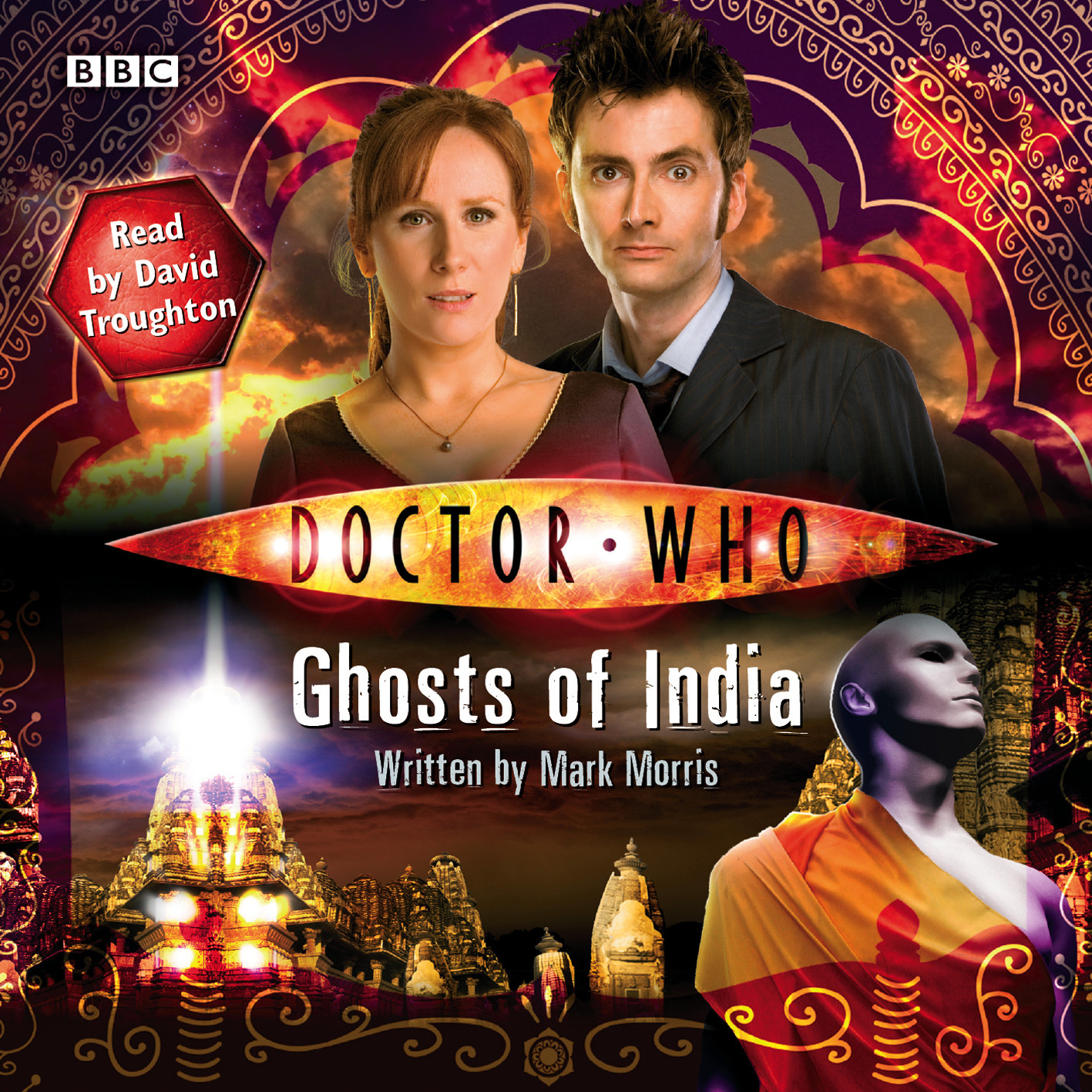 Printable Doctor Who: Ghosts of India Audiobook Cover Art