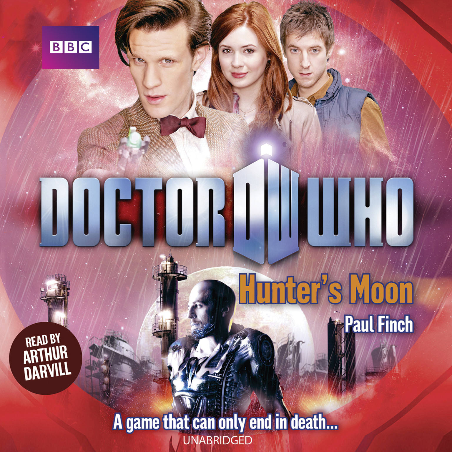 Printable Doctor Who: Hunter's Moon Audiobook Cover Art