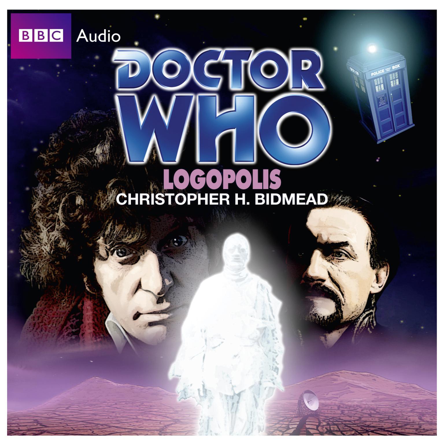 Printable Doctor Who: Logopolis Audiobook Cover Art
