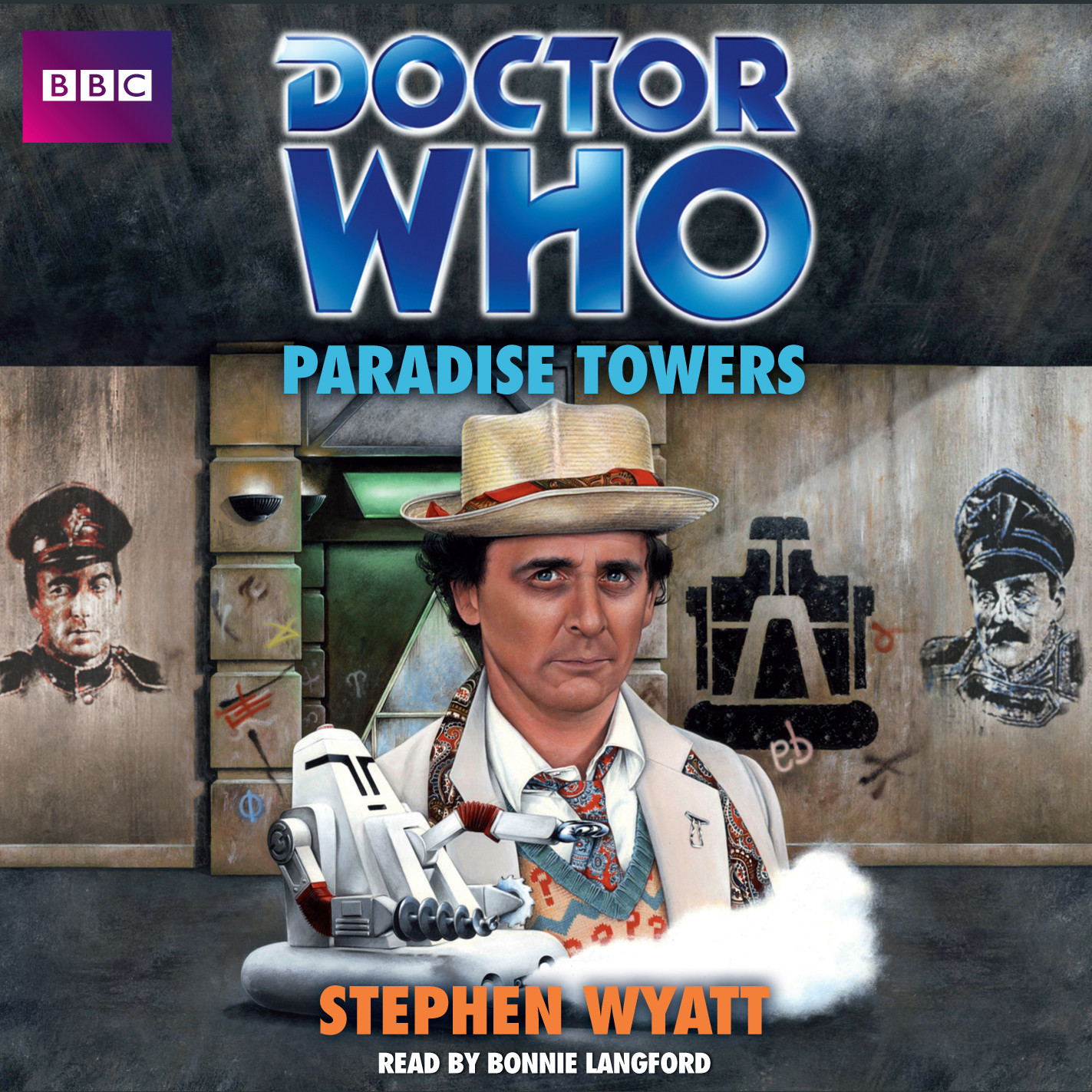 Printable Doctor Who: Paradise Towers Audiobook Cover Art