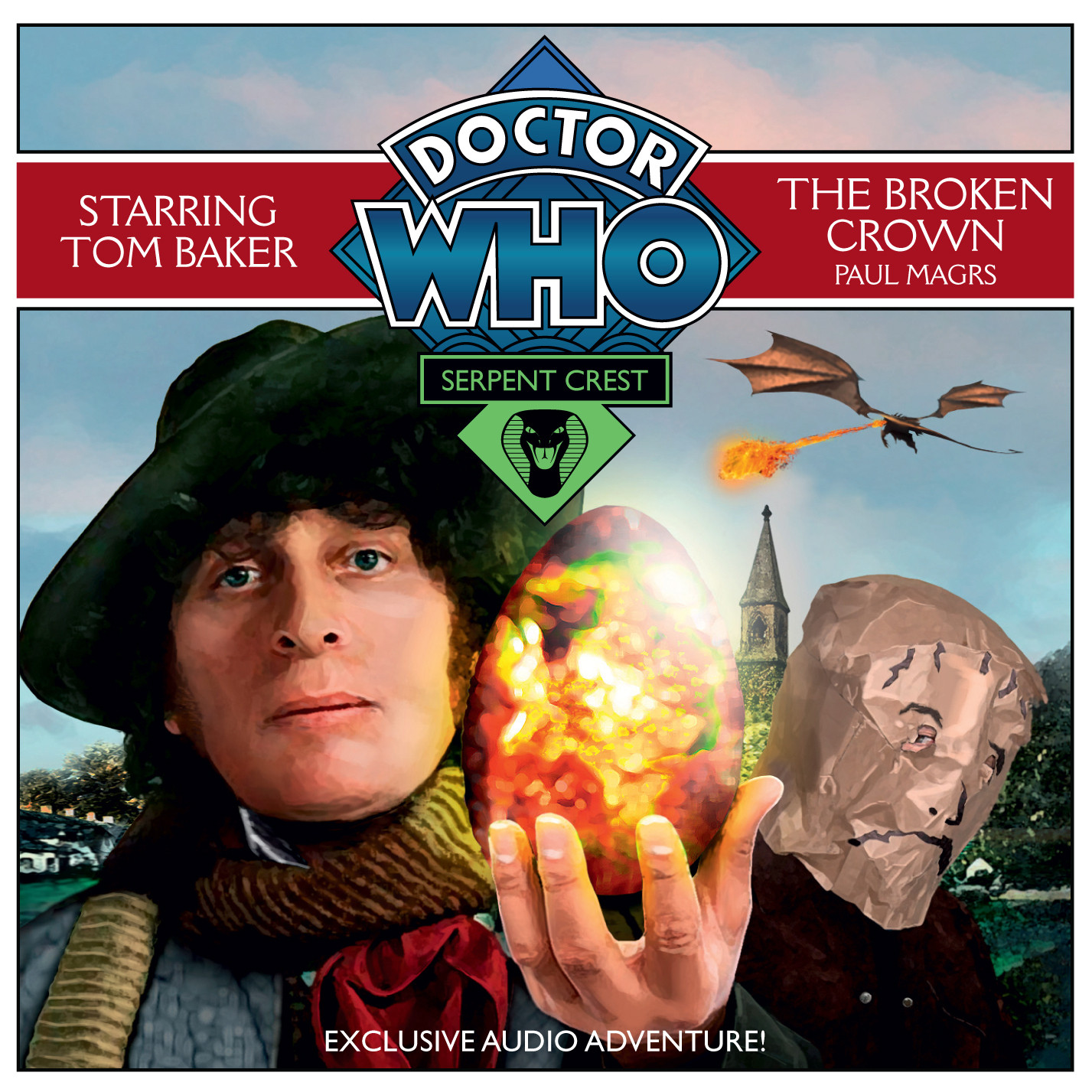Printable Doctor Who: The Broken Crown Audiobook Cover Art