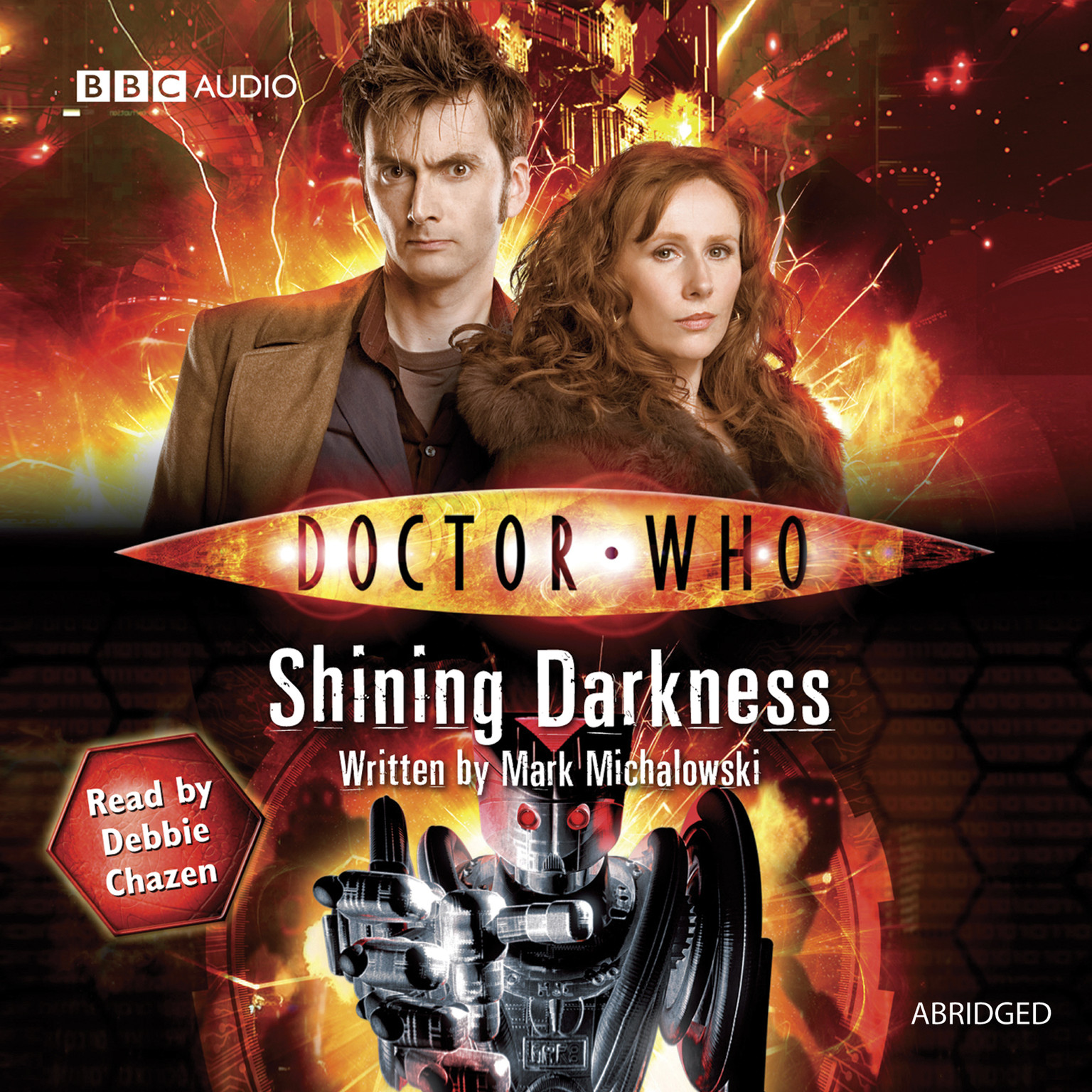Printable Doctor Who: Shining Darkness Audiobook Cover Art