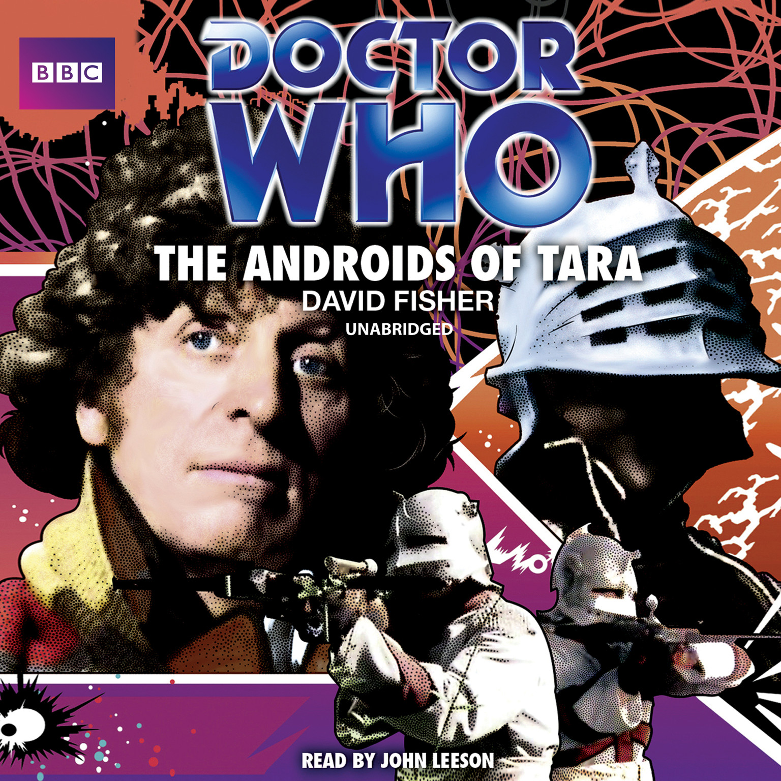 Printable Doctor Who: The Androids of Tara Audiobook Cover Art