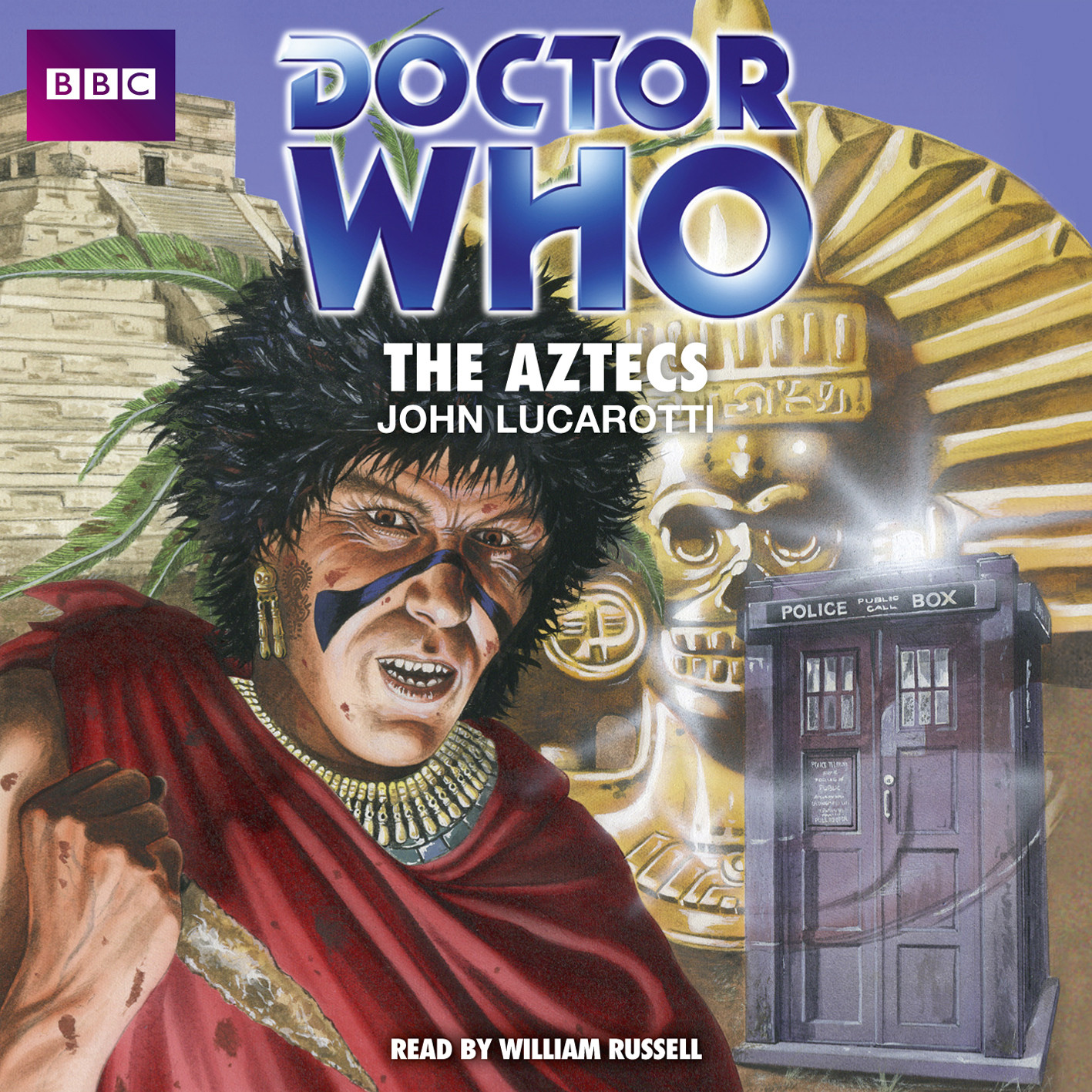 Printable Doctor Who: The Aztecs Audiobook Cover Art