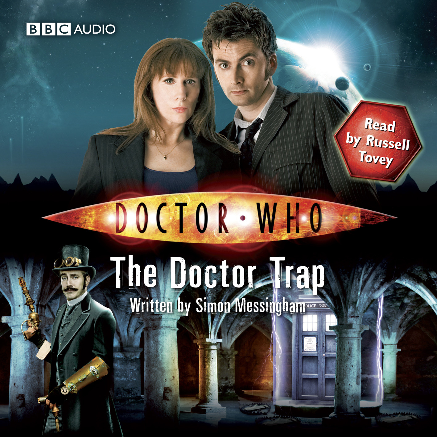 Printable Doctor Who: The Doctor Trap Audiobook Cover Art