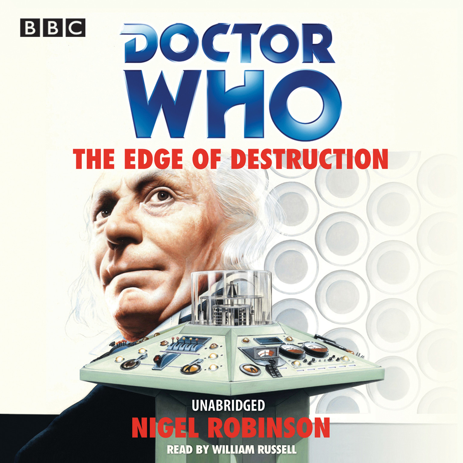 Printable Doctor Who: The Edge of Destruction Audiobook Cover Art