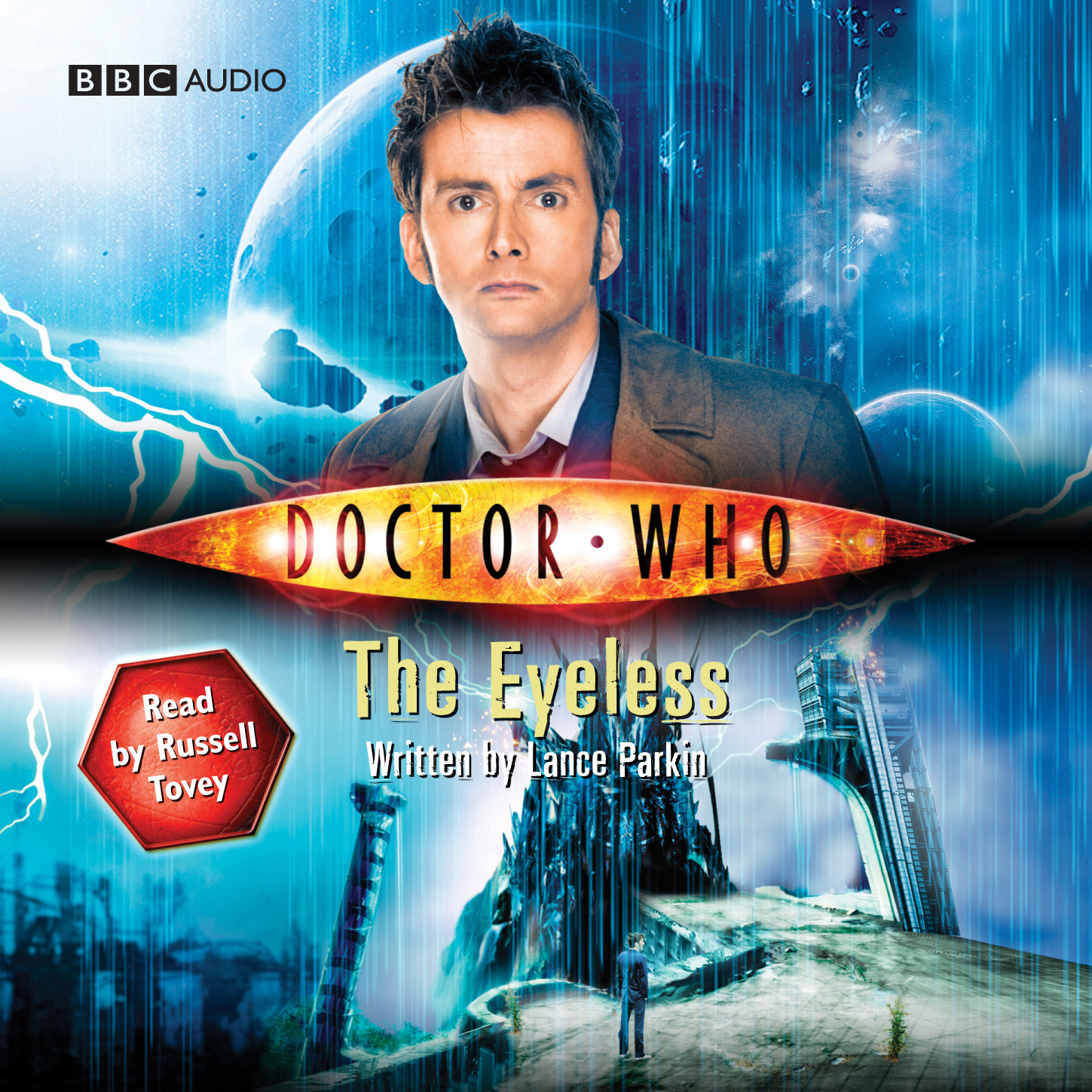 Printable Doctor Who: The Eyeless Audiobook Cover Art
