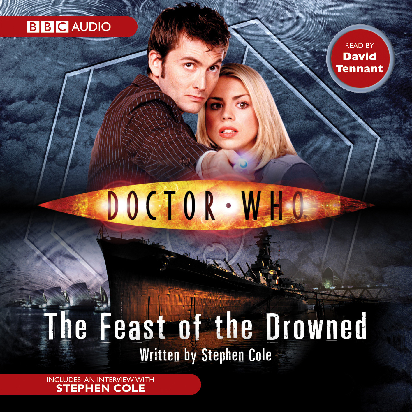 Printable Doctor Who: The Feast of the Drowned Audiobook Cover Art