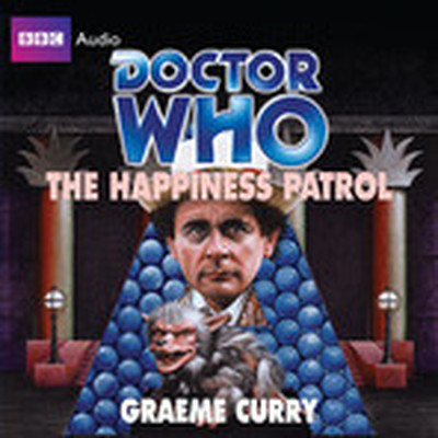 Printable Doctor Who: The Happiness Patrol Audiobook Cover Art