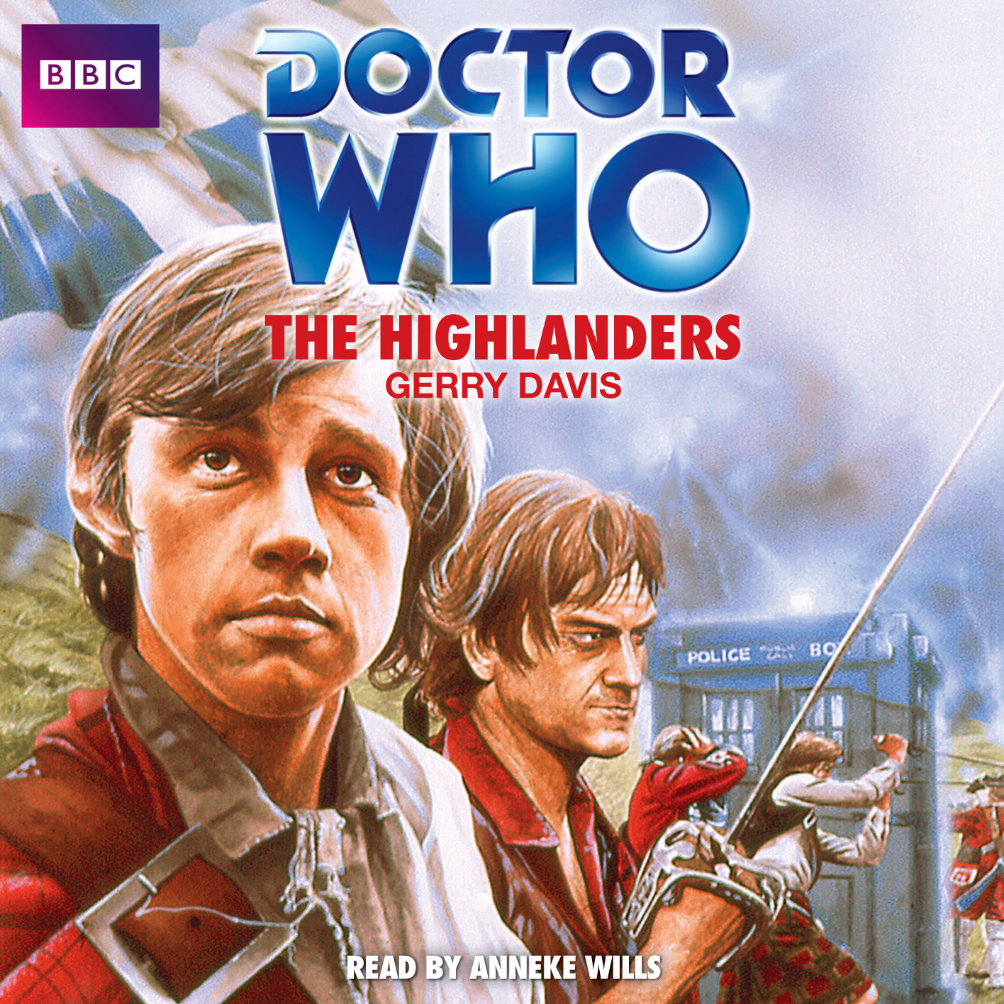 Printable Doctor Who: The Highlanders Audiobook Cover Art