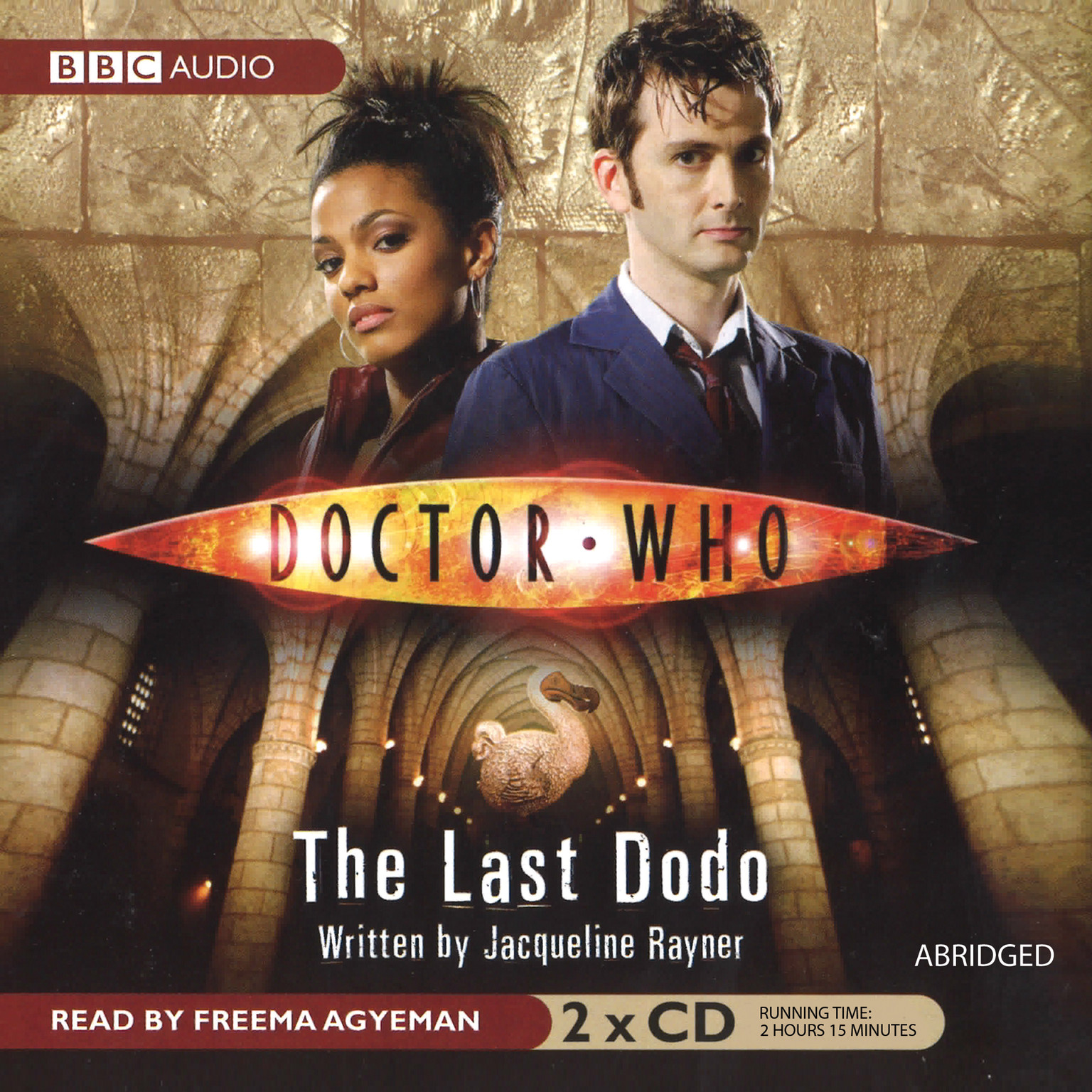 Printable Doctor Who: The Last Dodo Audiobook Cover Art