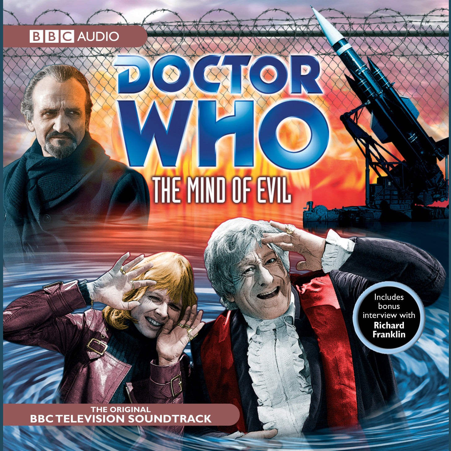 Printable Doctor Who: The Mind of Evil Audiobook Cover Art
