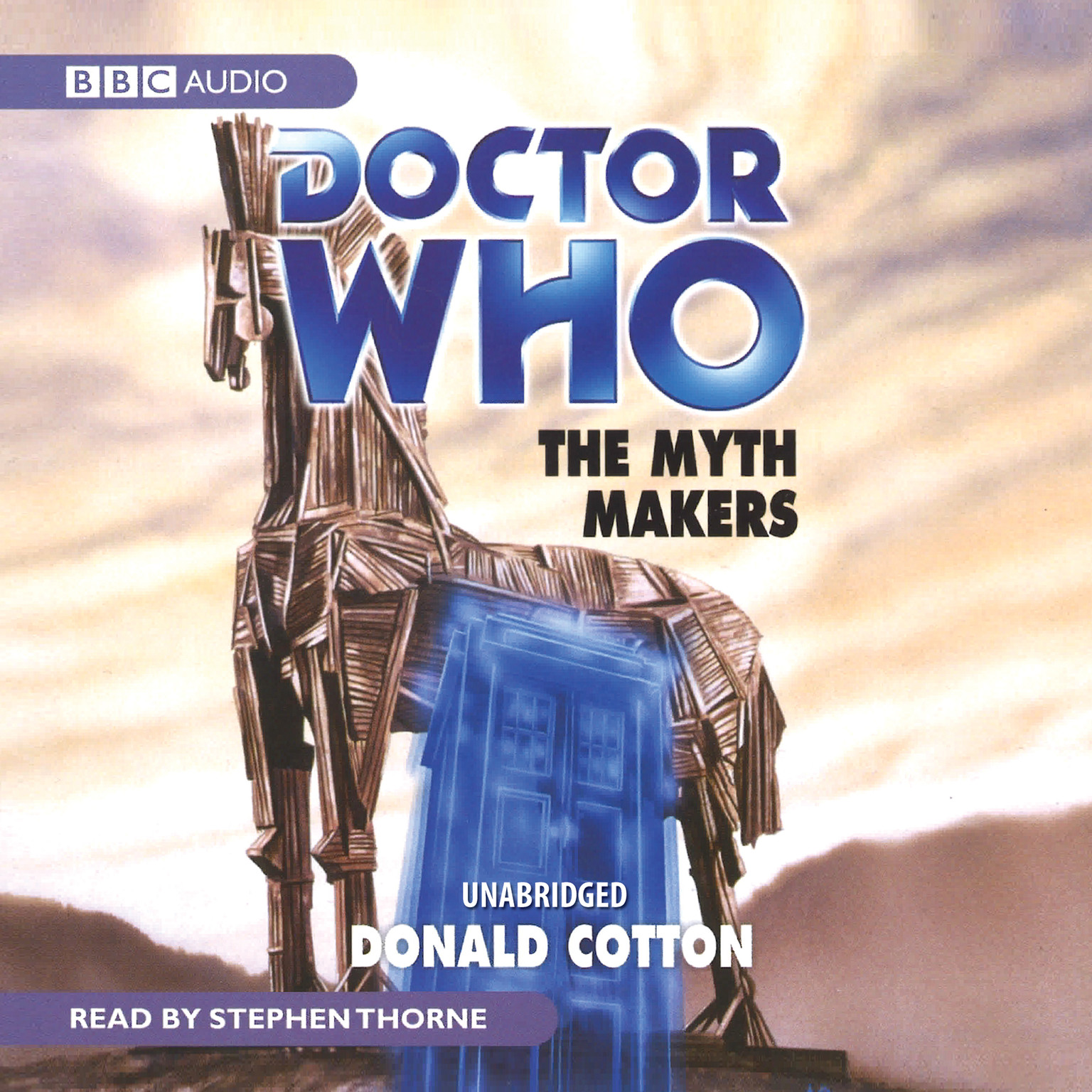 Printable Doctor Who: The Myth Makers Audiobook Cover Art