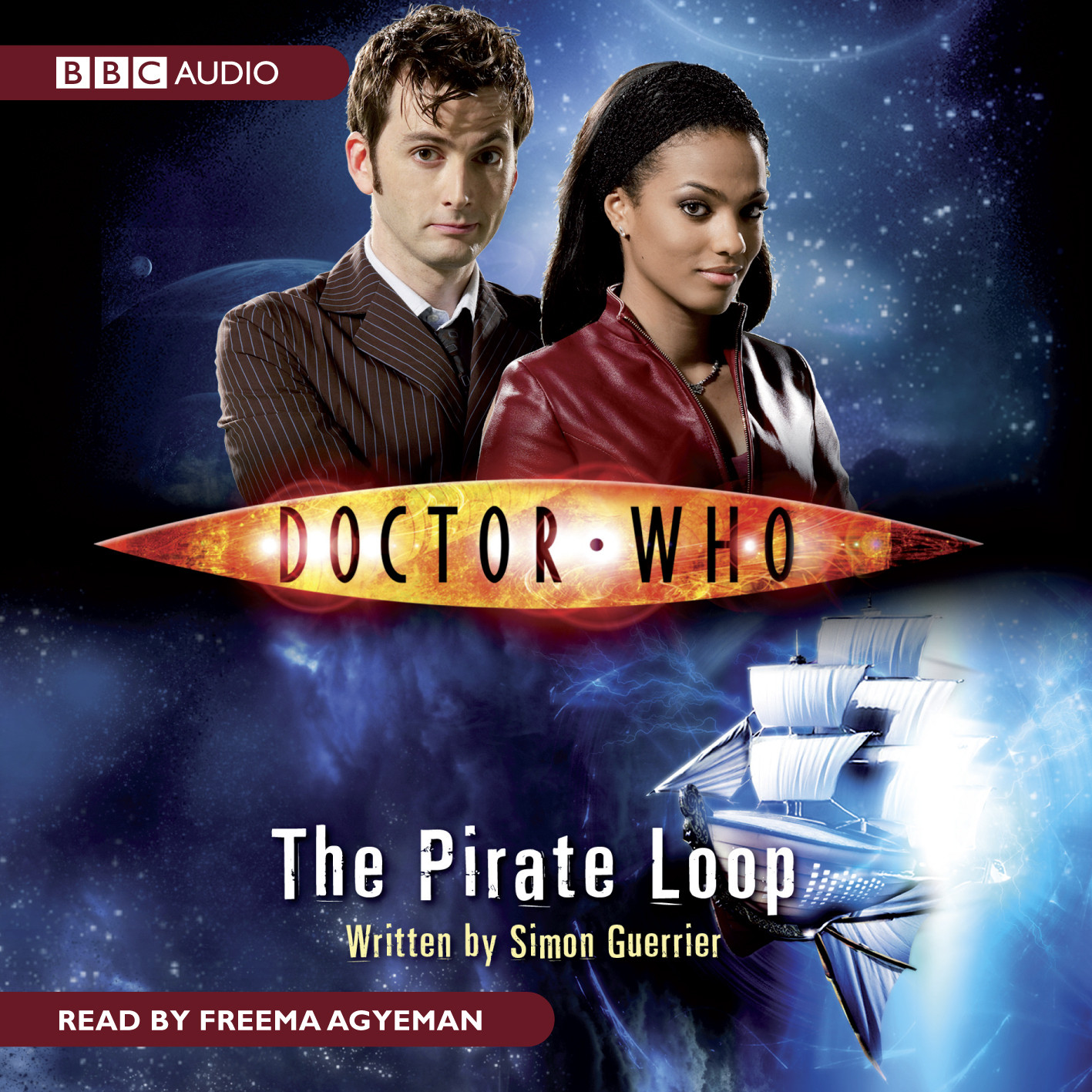 Printable Doctor Who: The Pirate Loop Audiobook Cover Art