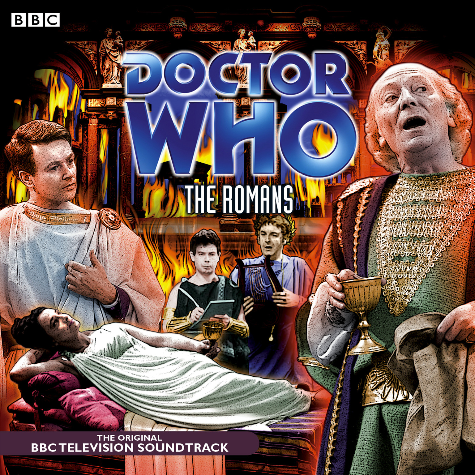 Printable Doctor Who: The Romans Audiobook Cover Art