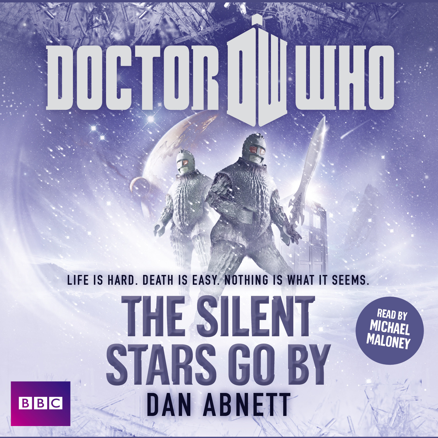 Printable Doctor Who: The Silent Stars Go By Audiobook Cover Art