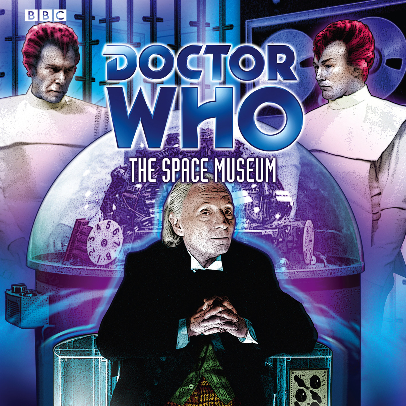 Printable Doctor Who: The Space Museum Audiobook Cover Art
