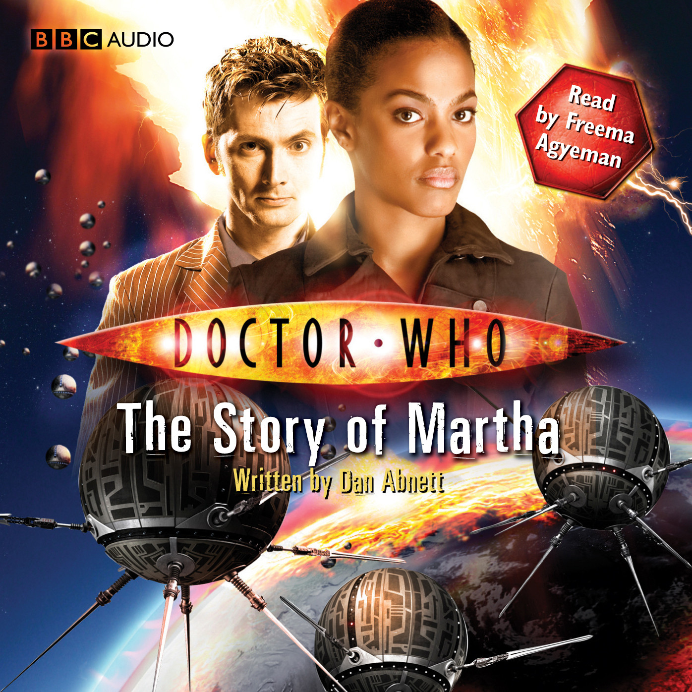 Printable Doctor Who: The Story of Martha Audiobook Cover Art
