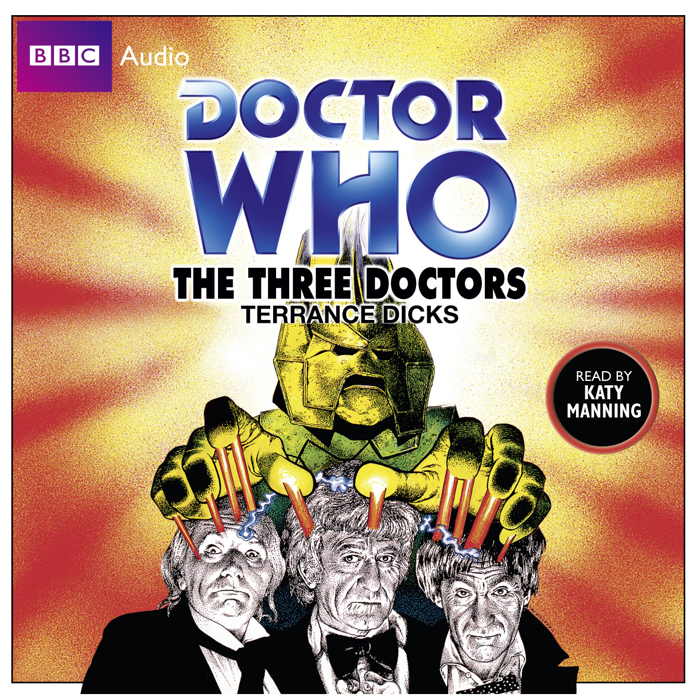 Printable Doctor Who: The Three Doctors Audiobook Cover Art