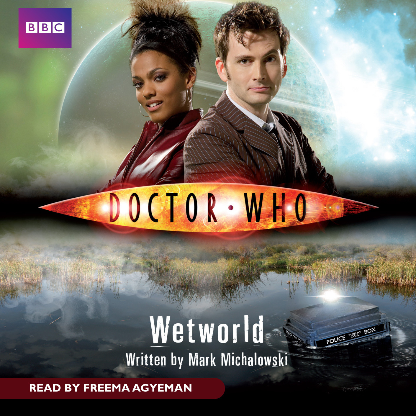 Printable Doctor Who: Wetworld Audiobook Cover Art