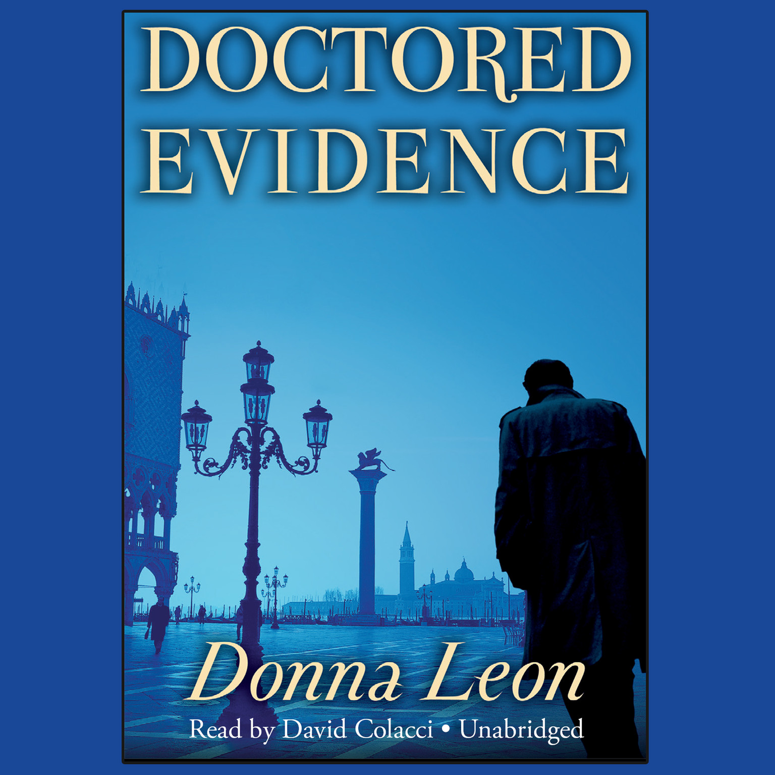 Printable Doctored Evidence Audiobook Cover Art
