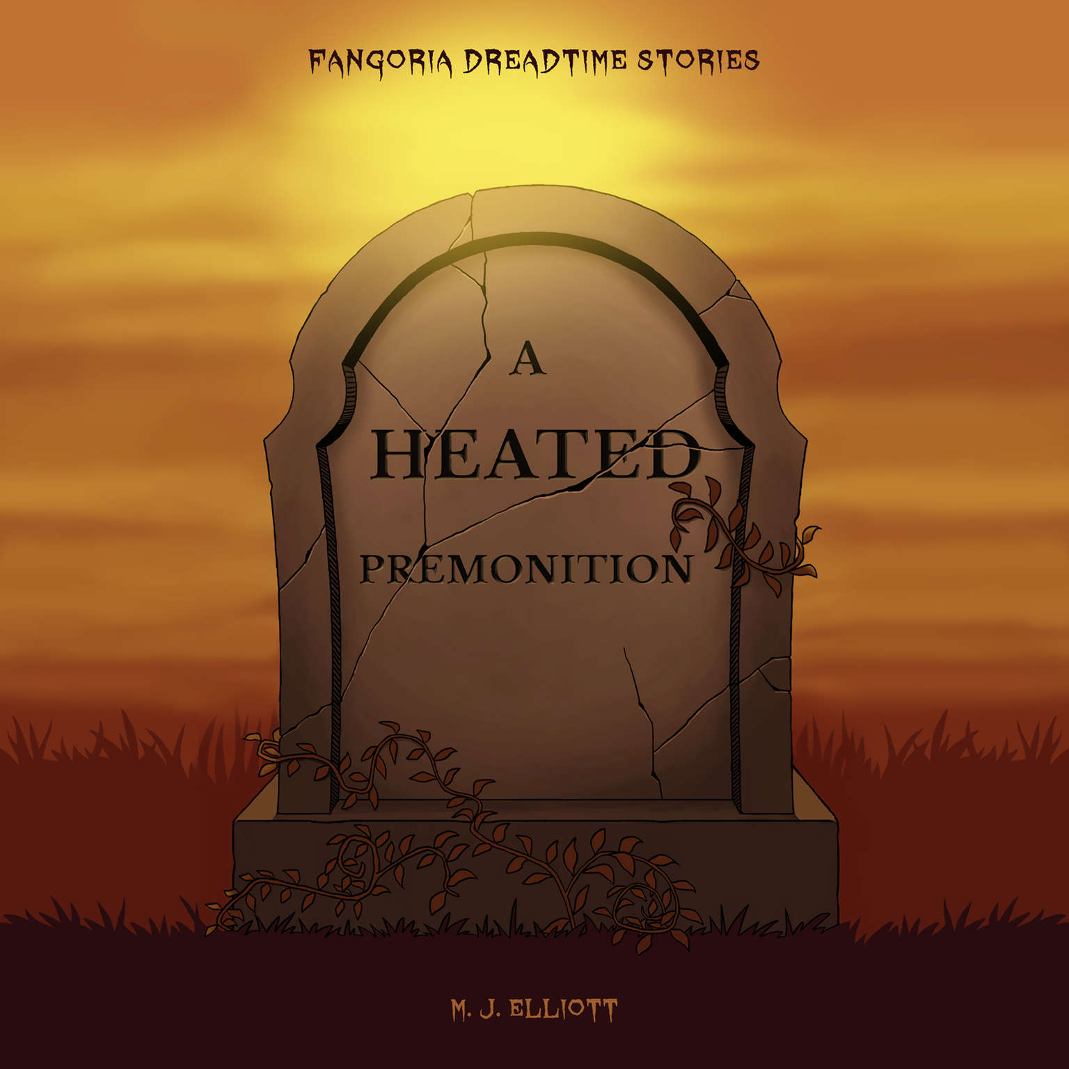 Printable A Heated Premonition Audiobook Cover Art