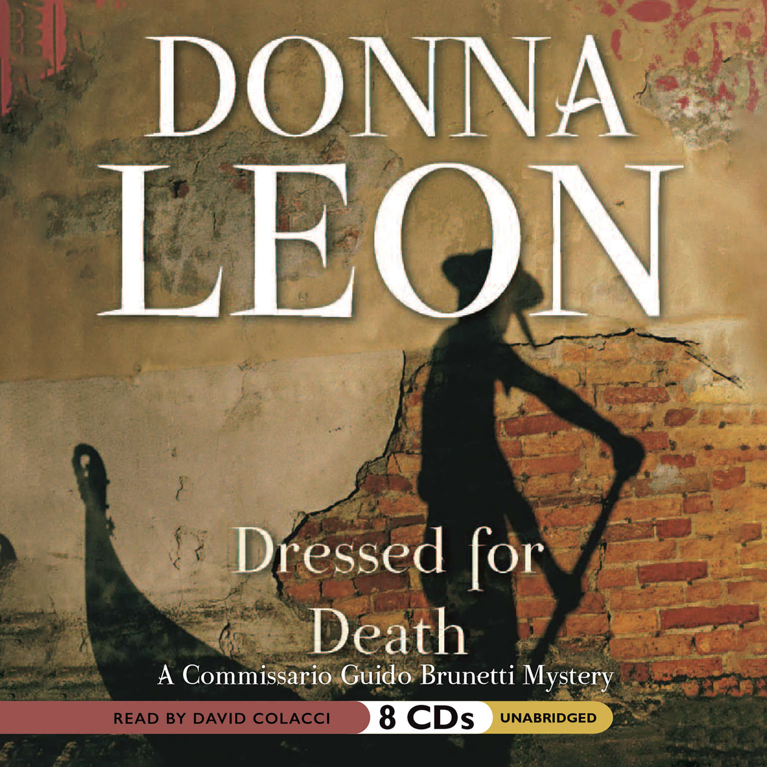 Printable Dressed for Death Audiobook Cover Art
