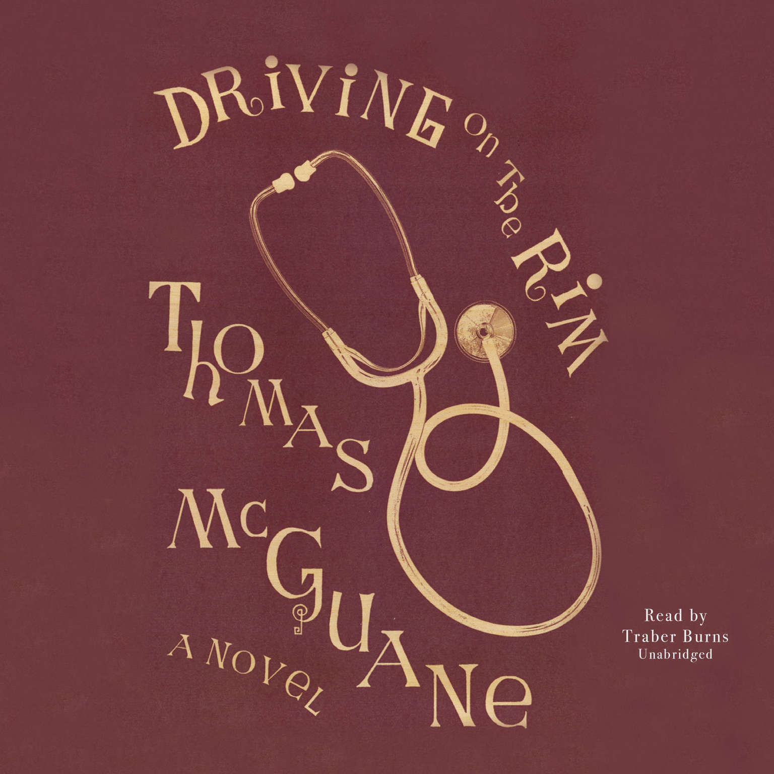 Printable Driving on the Rim Audiobook Cover Art