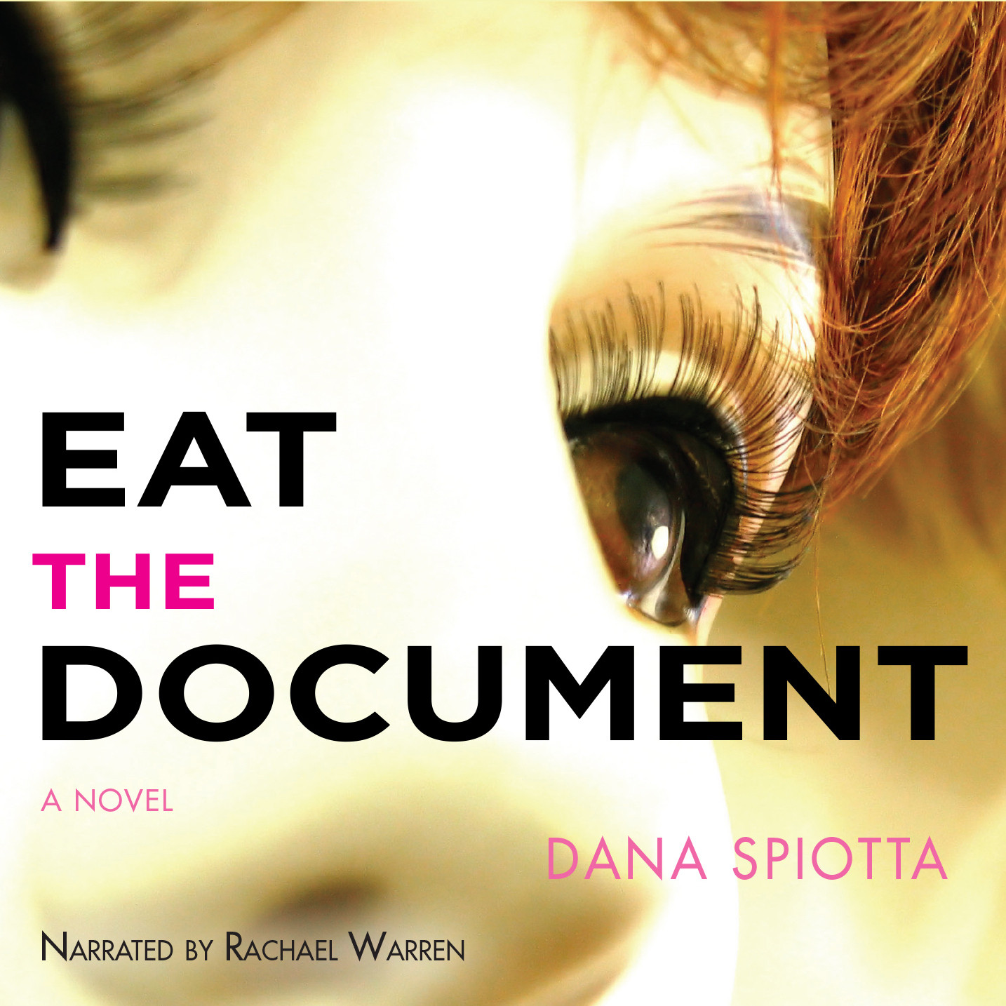 Printable Eat the Document Audiobook Cover Art