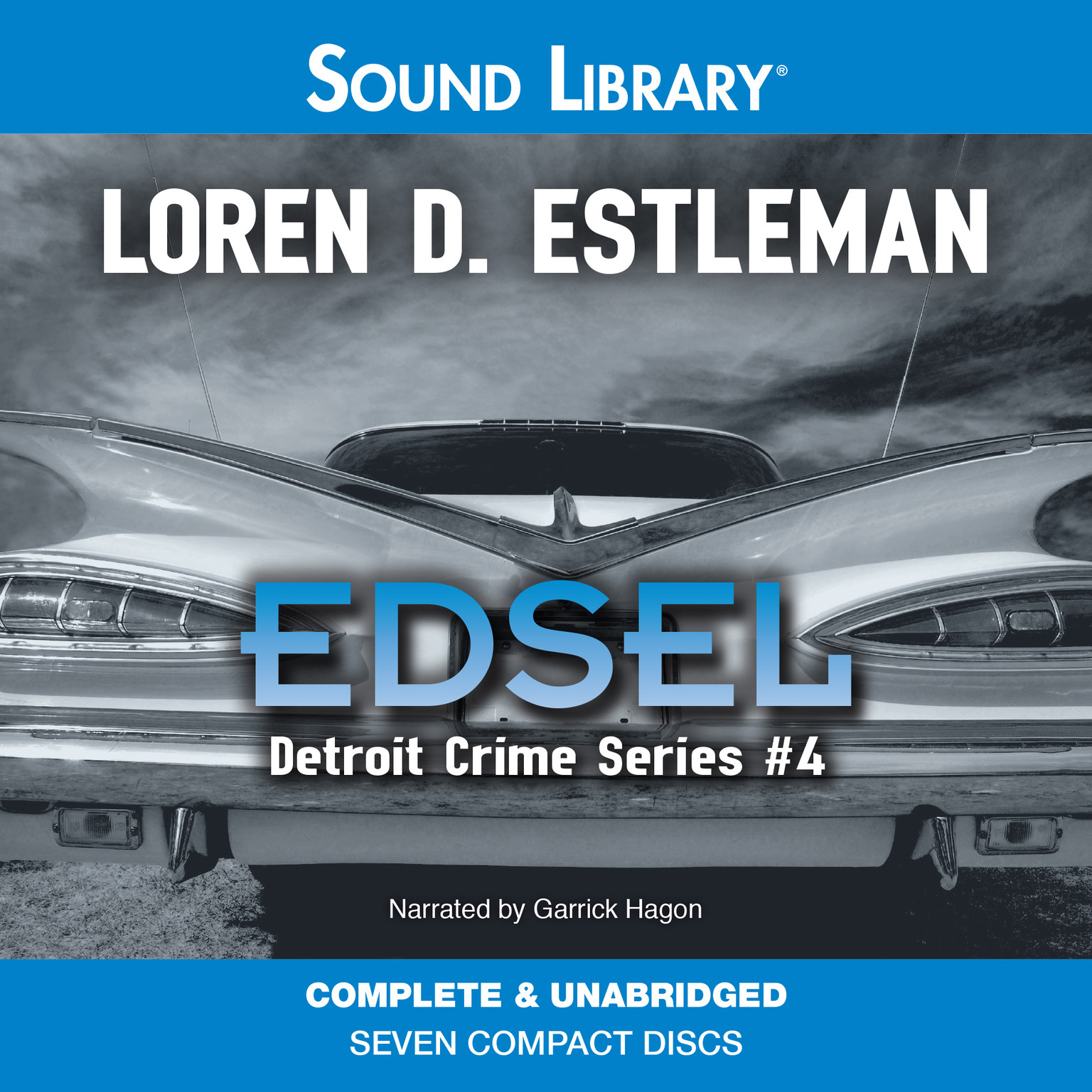 Printable Edsel Audiobook Cover Art