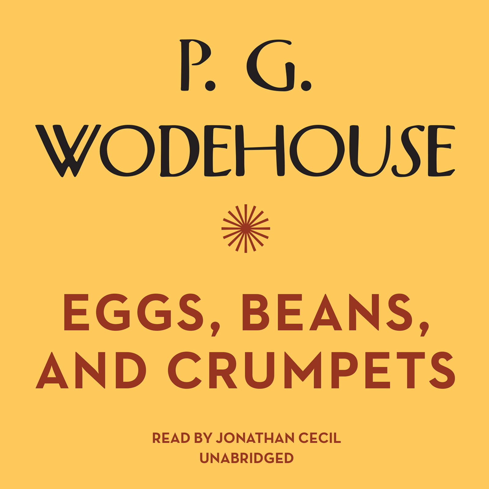 Printable Eggs, Beans, and Crumpets Audiobook Cover Art