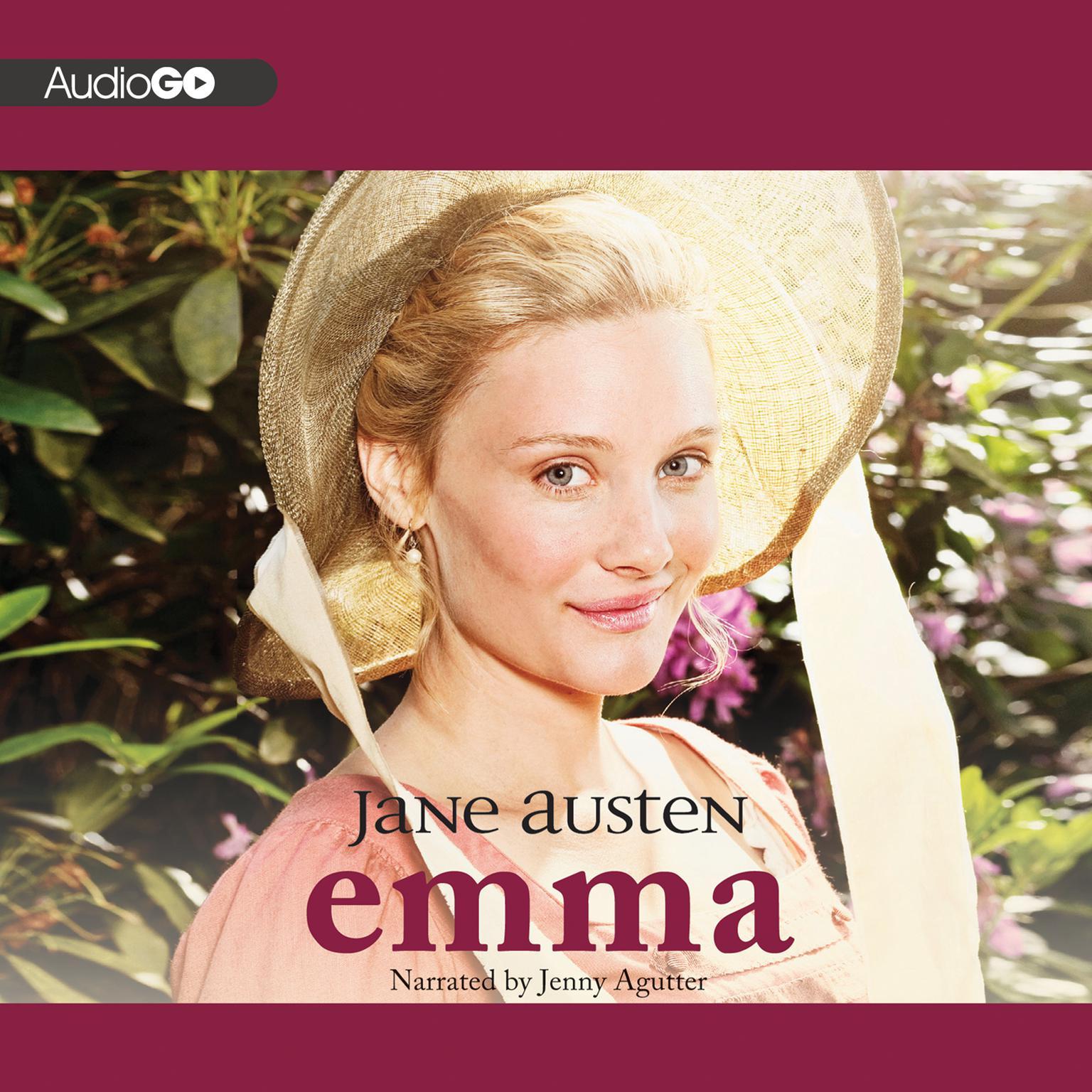 Printable Emma Audiobook Cover Art