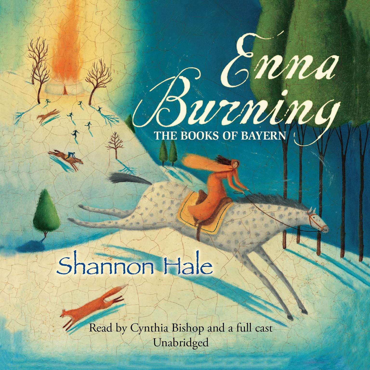 Printable Enna Burning Audiobook Cover Art