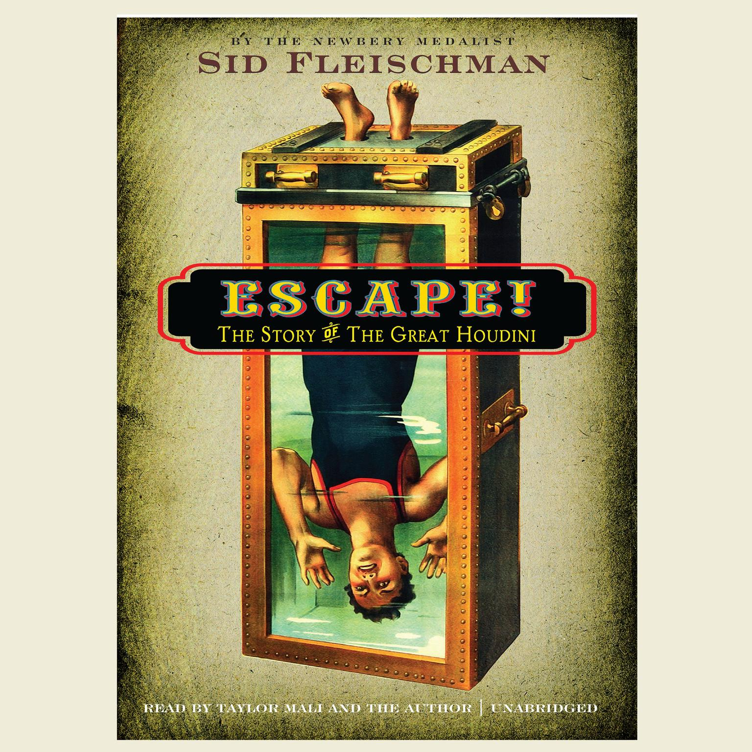 Printable Escape!: The Story of the Great Houdini Audiobook Cover Art