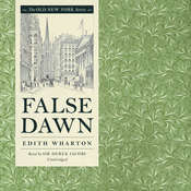False Dawn Audiobook, by Edith Wharton