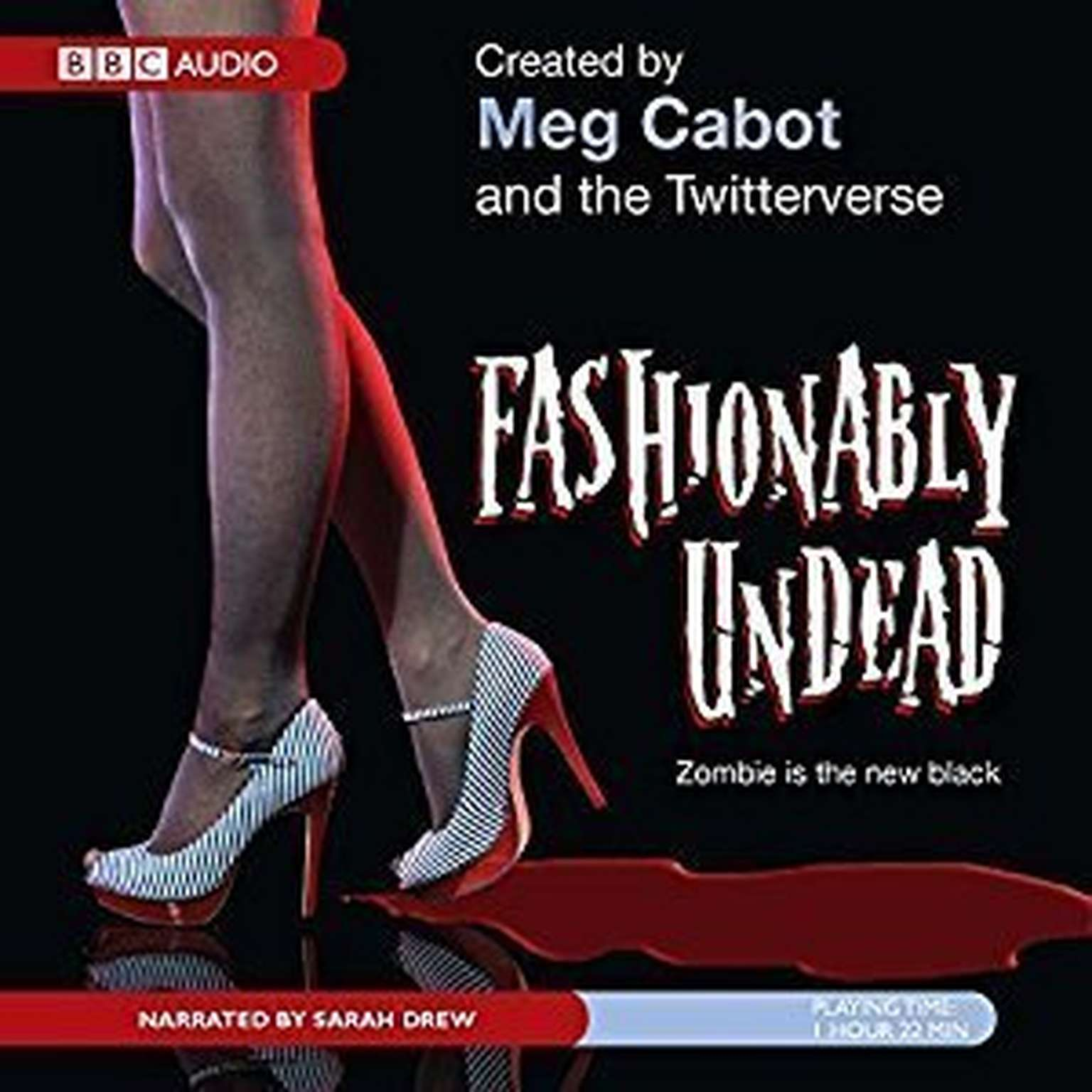 Printable Fashionably Undead Audiobook Cover Art
