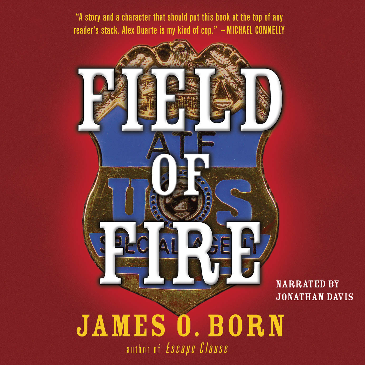 Printable Field of Fire Audiobook Cover Art