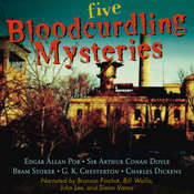Five Bloodcurdling Mysteries Audiobook, by various authors