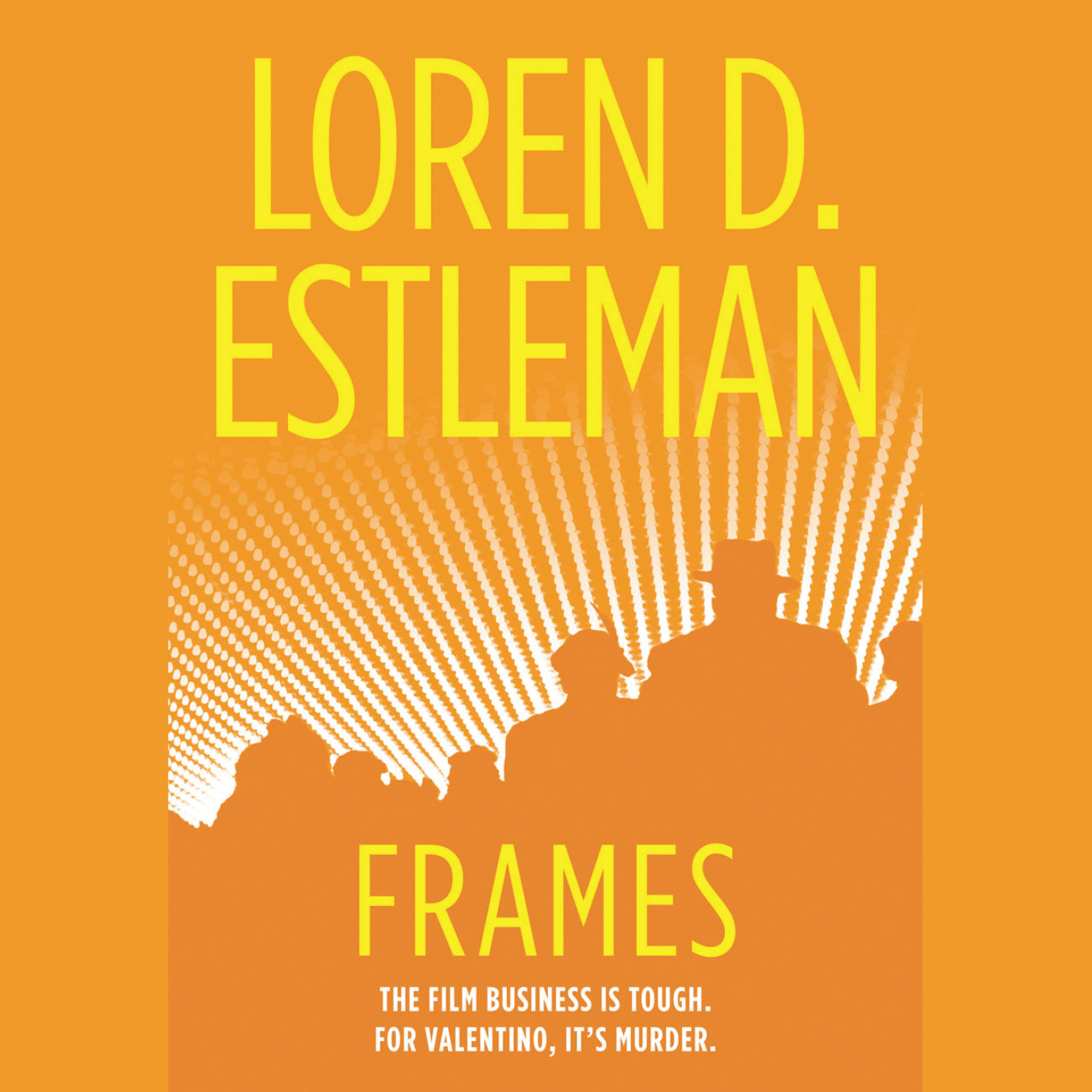 Printable Frames: A Valentino Mystery Audiobook Cover Art
