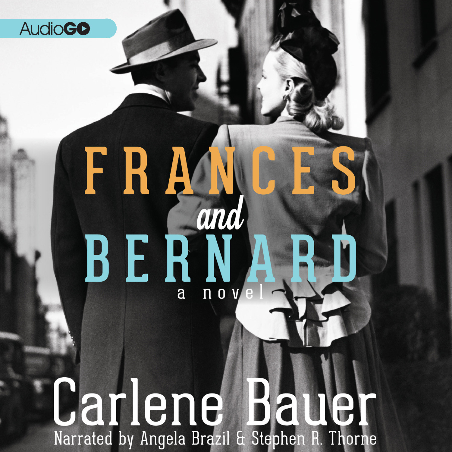 Printable Frances and Bernard Audiobook Cover Art