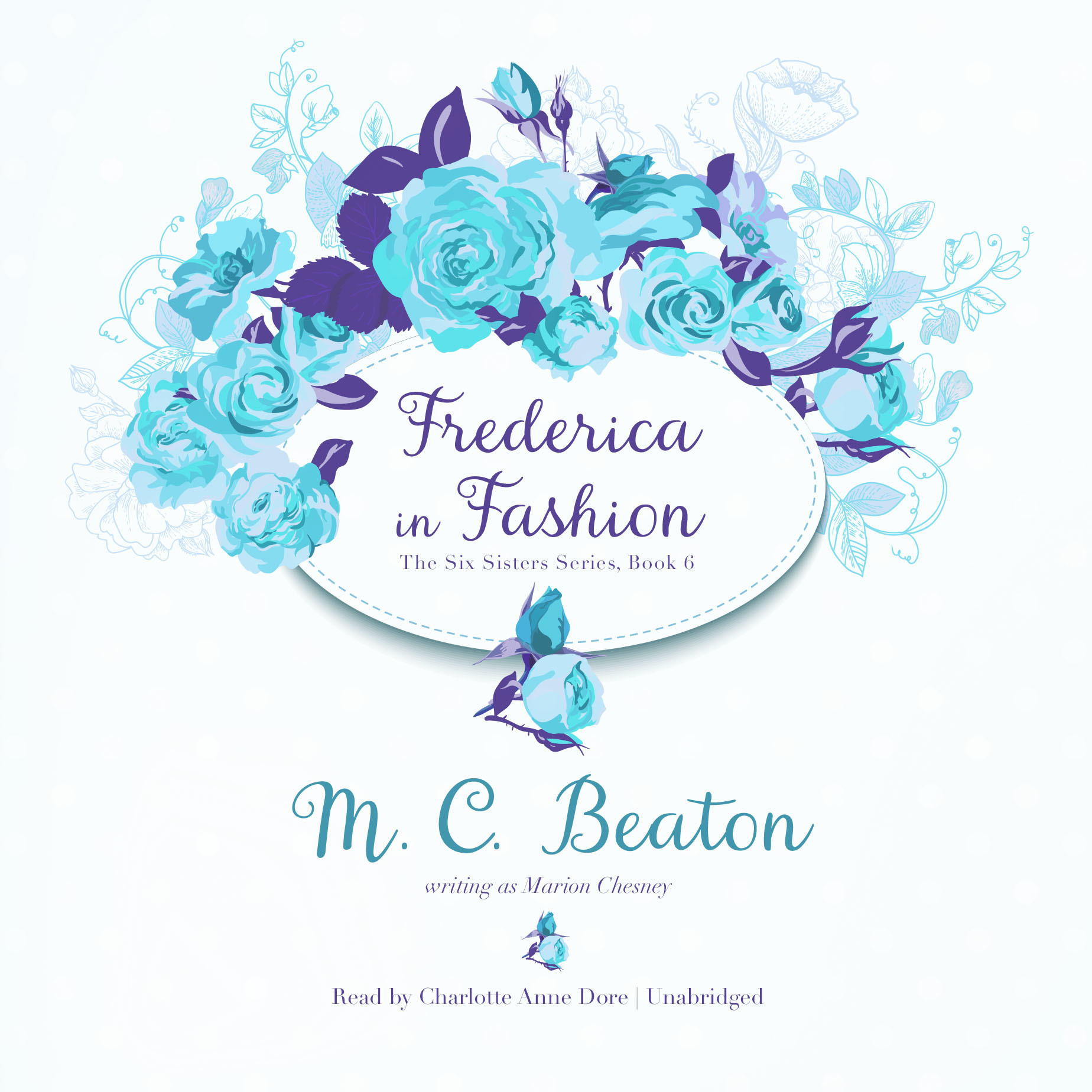 Printable Frederica in Fashion Audiobook Cover Art