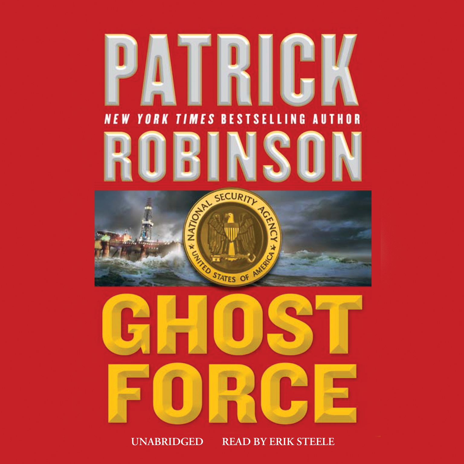 Printable Ghost Force Audiobook Cover Art