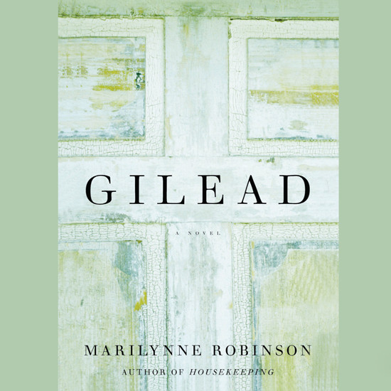 Printable Gilead Audiobook Cover Art