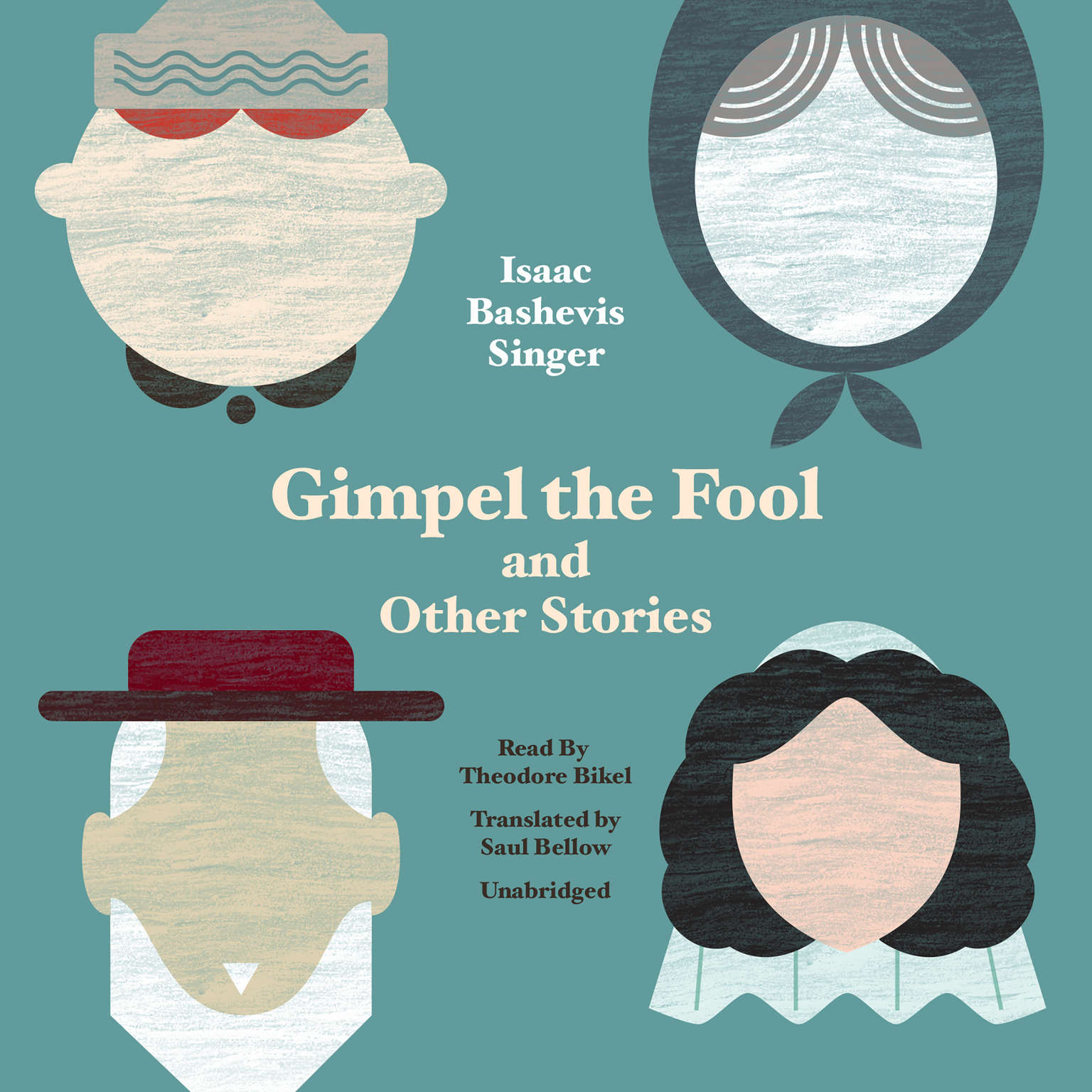 Printable Gimpel the Fool, and Other Stories Audiobook Cover Art