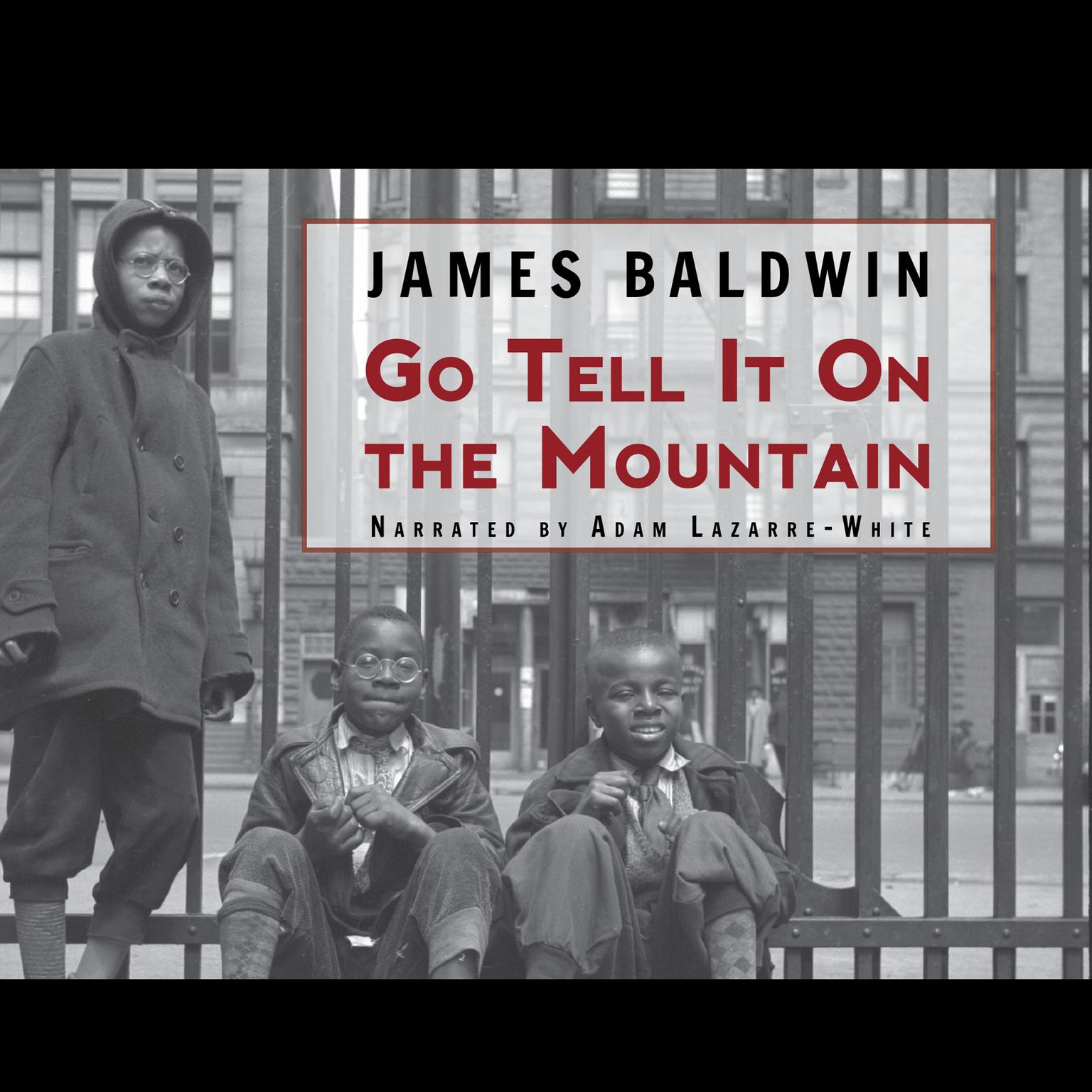 Printable Go Tell It on the Mountain Audiobook Cover Art