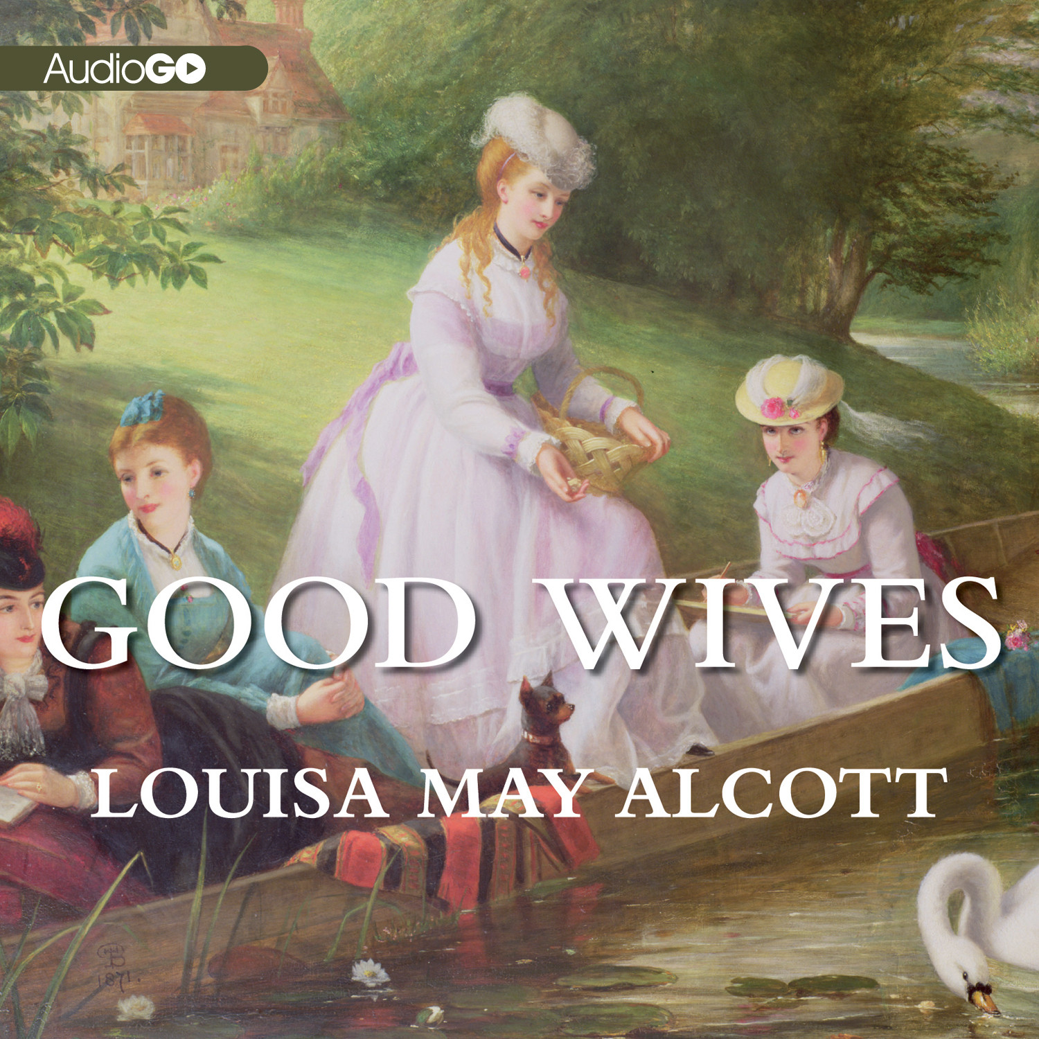 Printable Good Wives: Little Women, Part II Audiobook Cover Art