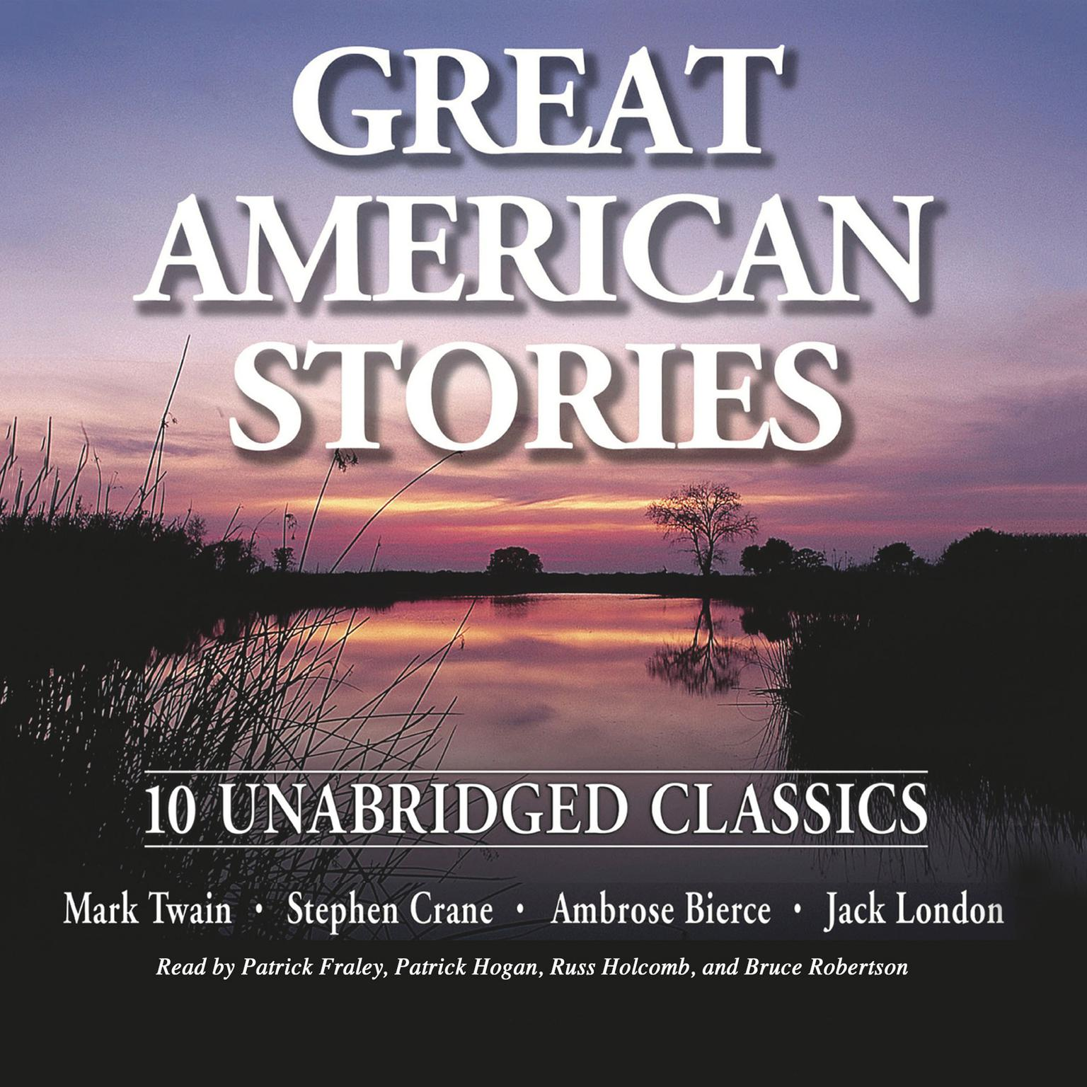 Printable Great American Stories Audiobook Cover Art