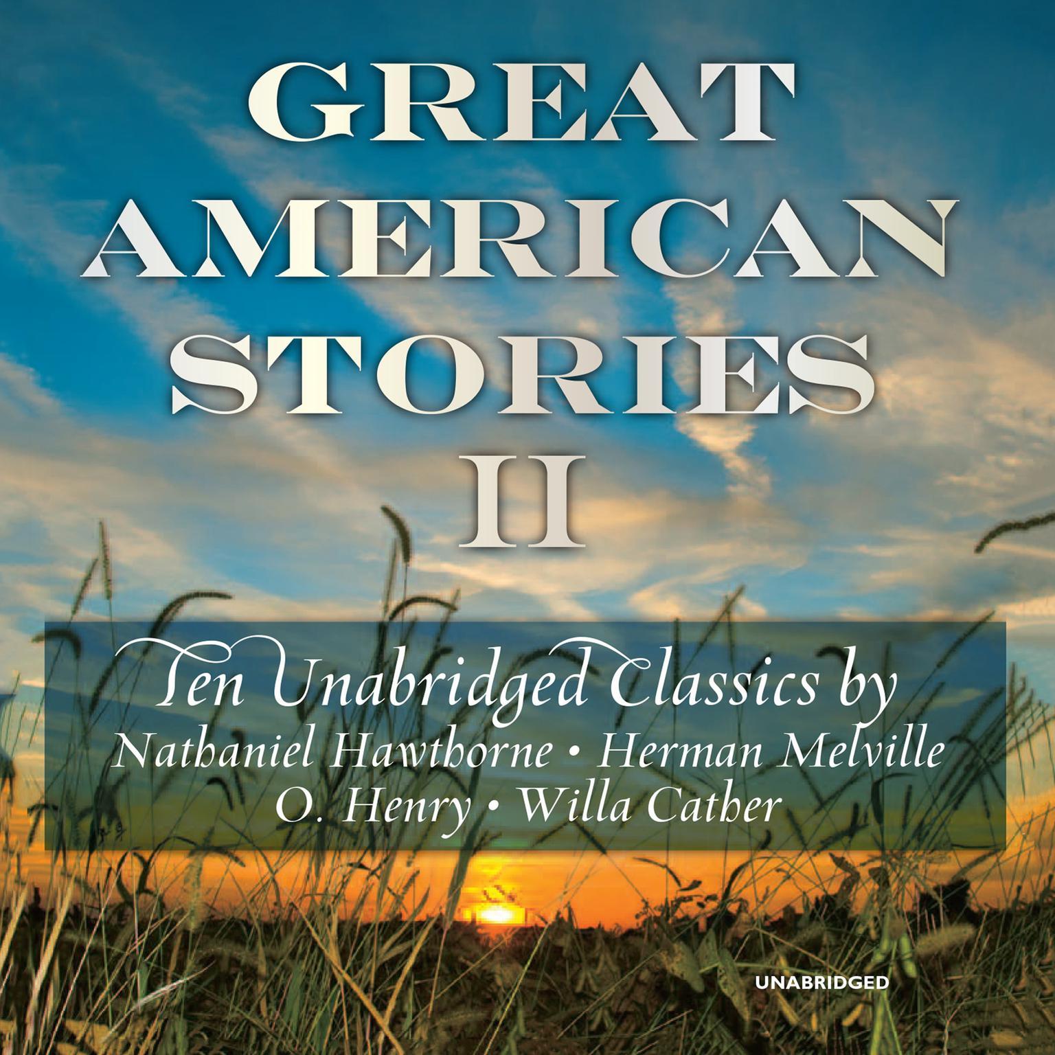 Printable Great American Stories II Audiobook Cover Art