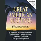 Great American Suspense Audiobook, by various authors